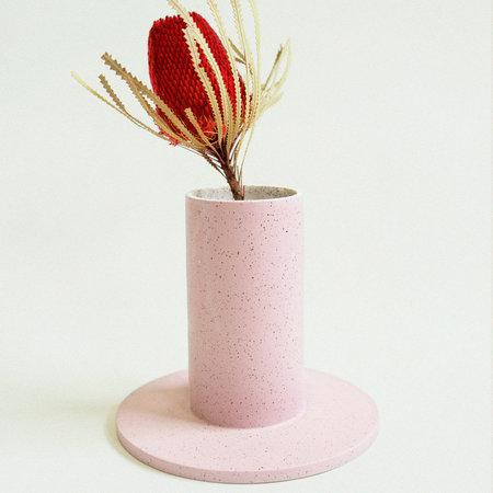 Lindsey Hampton Platform Vase - Lilac