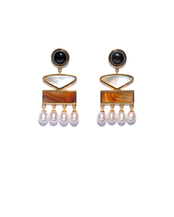 Lizzie Fortunato Coconut Grove Earrings