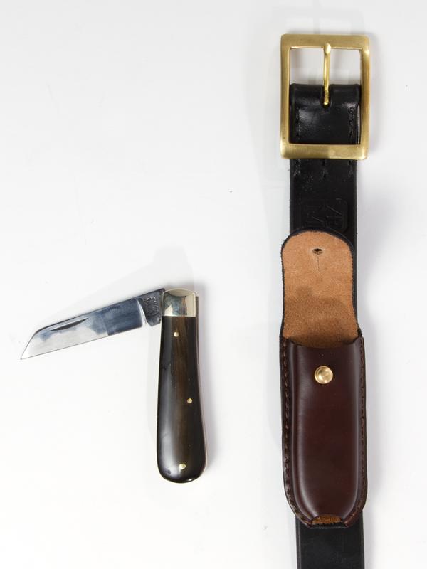 AE Mcateer Black Knife Belt