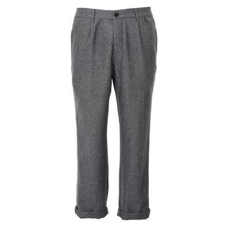 A.B.C.L. Miniera Linen Herringbone Trousers