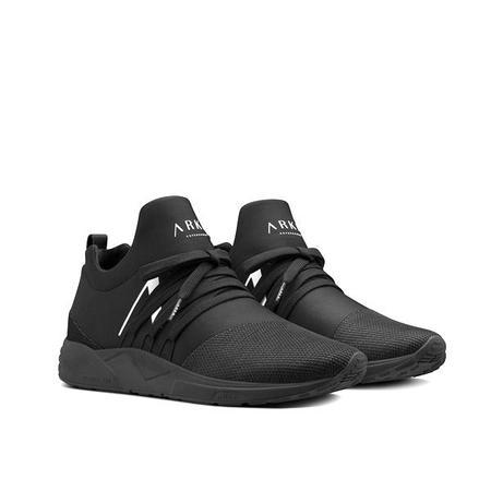 ARKK Raven Mesh Sneaker - All Black/White