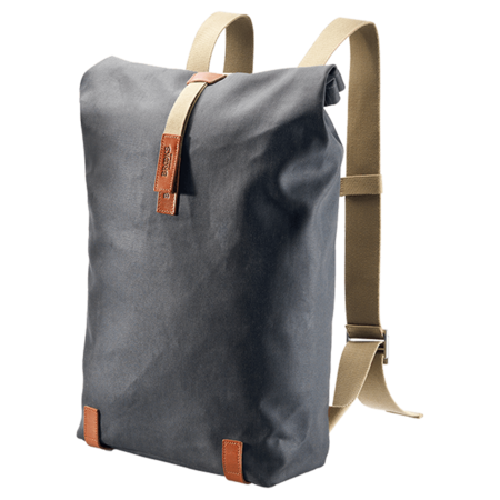 Brooks England Pickwick Roll Top Cycling Backpack 26L - Grey