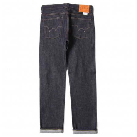 Edwin Classic Regular Tapered Jeans Rainbow Selvage Japan Denim - Raw State
