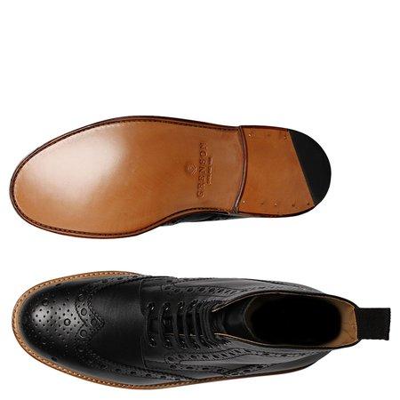 Grenson 'Fred' Brogue Boot - Black