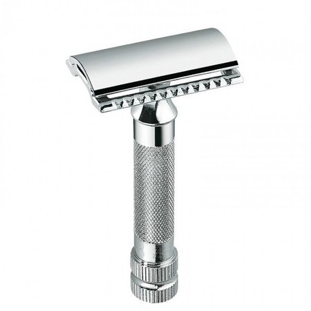 Merkur Classic Double Edge Safety Razor Short Handle - Silver