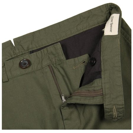 724c4479774 Oliver Spencer Cheviot Fishtail Trouser - Green ...