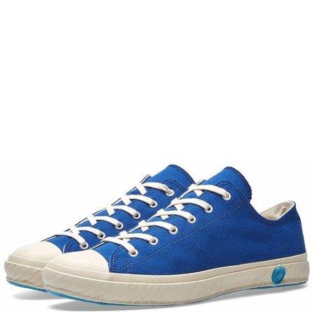 Shoes Like Pottery Handmade Japanese Low Canvas Trainer - Indigo Dyed