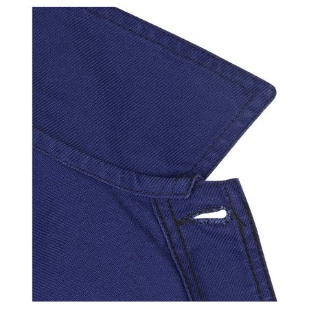 Vetra Cotton Twill Workwear Jacket - Hydrone Blue