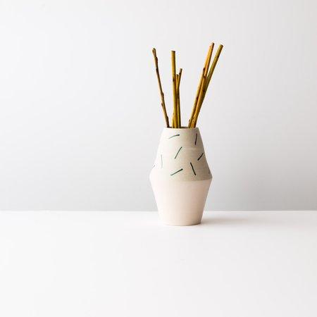 YYY Confetti Vase