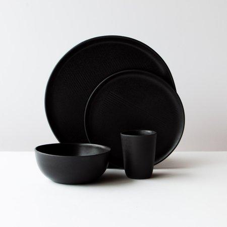 Agathe Palavioux Glazed Stoneware 4-Piece Dinnerware Set