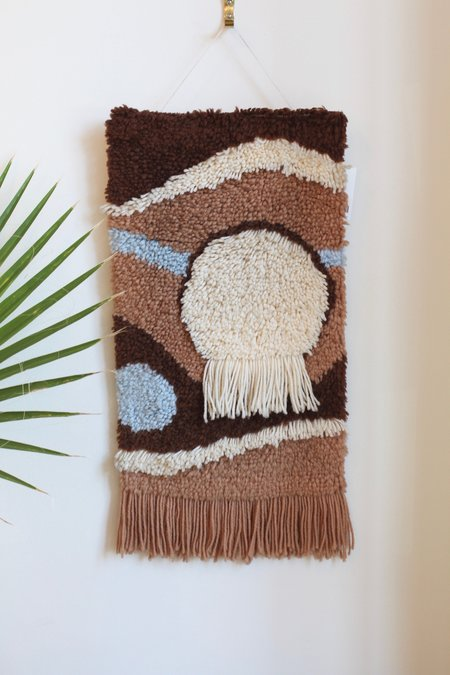 Vintage Fuzzy Wall Hanging