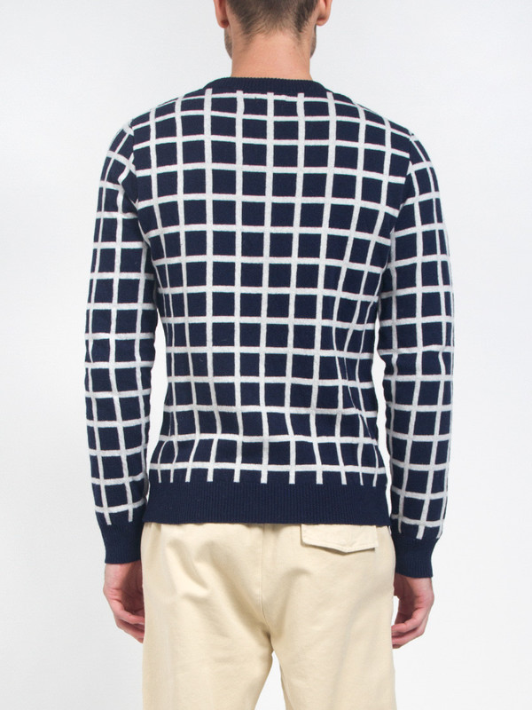 Men's Smith-Wykes Grid Check Sweater
