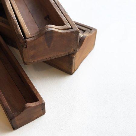 Meus Wooden Storage Tray Set
