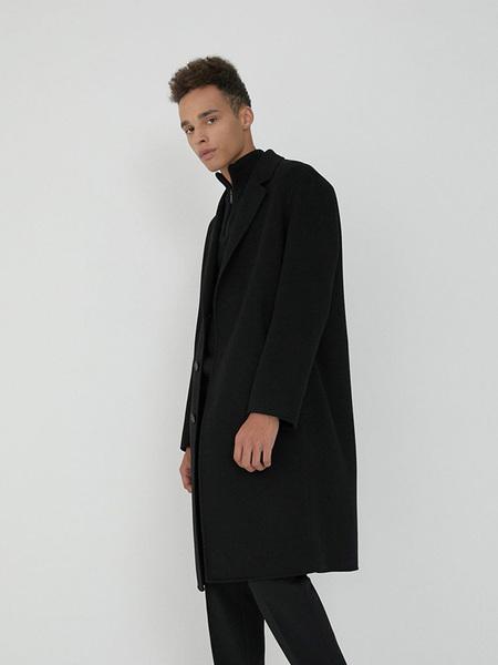 CHRISCHRISTY Handmade Goosedown Coat - Black