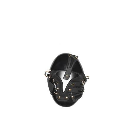 Innerraum Belt Egg Bag - Black/Gold