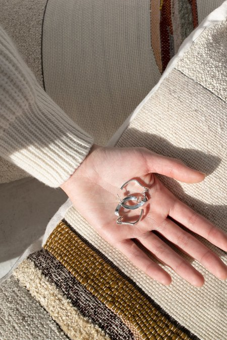 Quarry Agatha Earring - Silver
