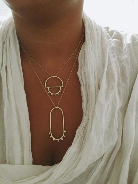 Soleé Darrell Jewelry Earth Pendant