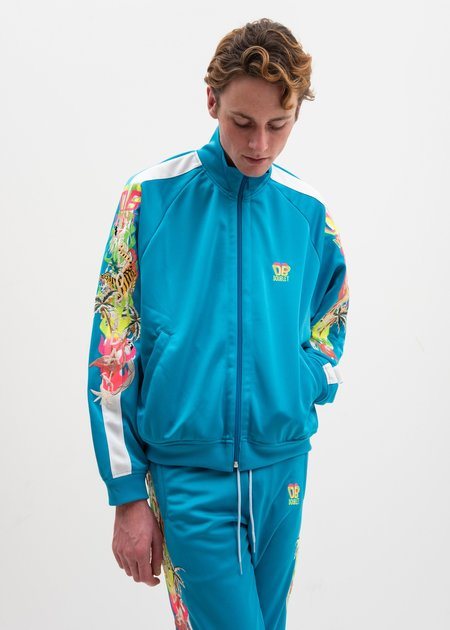 Doublet Chaos Embroidery Track Jacket - Light Blue