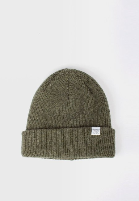 Unisex Norse Projects Norse Beanie - Light Olive