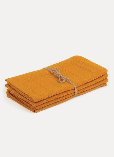Heather Taylor Home Solid Goldenrod Napkin Set
