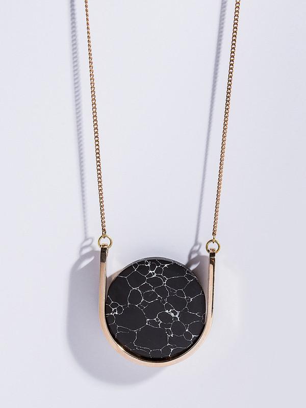 Metalepsis Projects Neutron Necklace - Black Particle