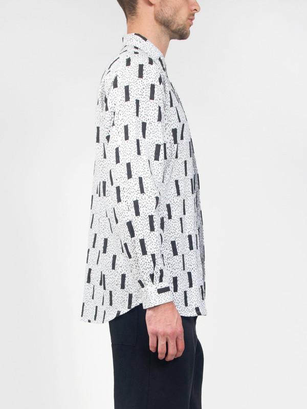 Men's Henrik Vibskov New James Shirt AOP