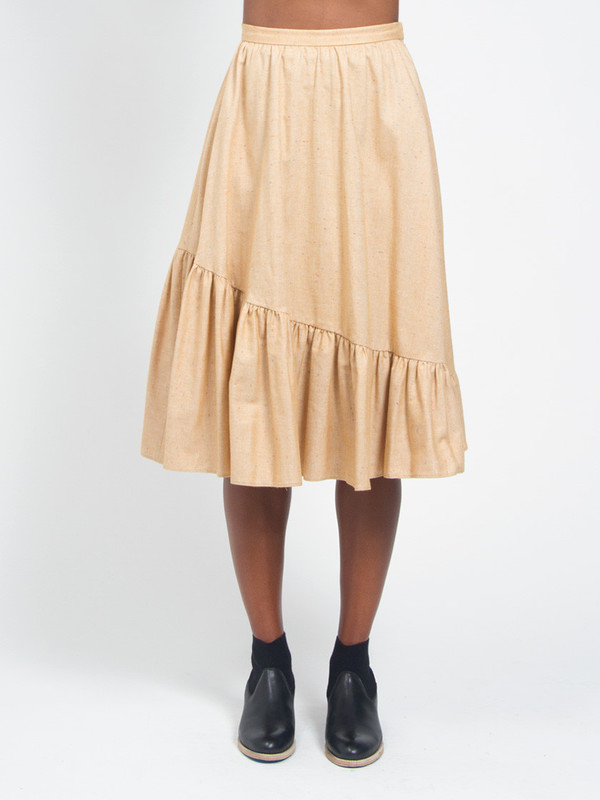 Litke Nora Skirt Yellow