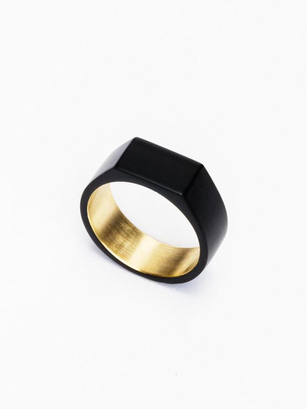 Ming Yu Wang Paradox Ring Brass