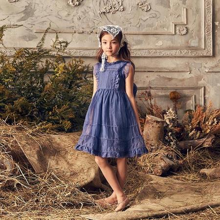 KIDS Love By Nellystella Baby And Child Flora Dress - Venture Violet Purple