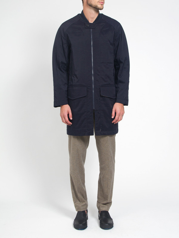 Men's Ddugoff Quilted Baseball Coat