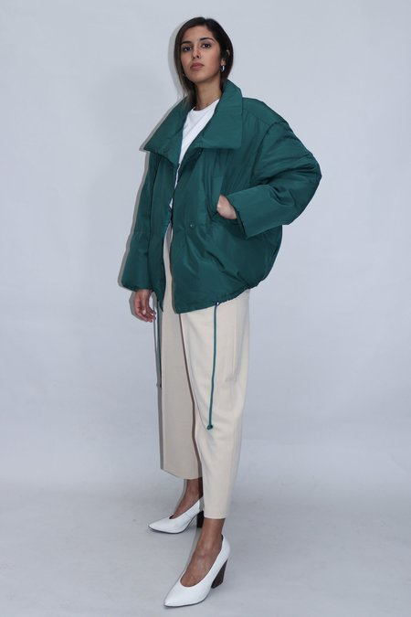 W A N T S Puffer Jacket - Pine Green