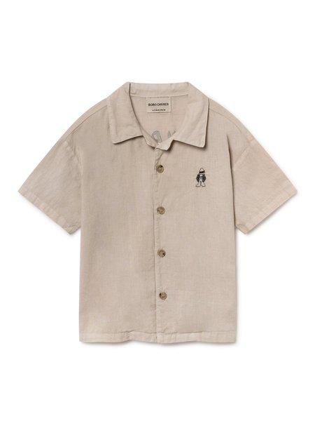 KIDS Bobo Choses Hawaiana Buttondown - Light Grey