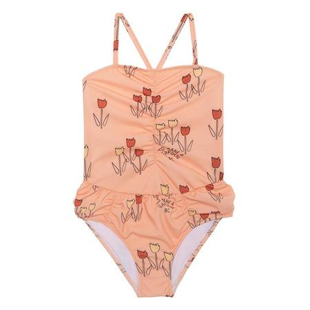 KIDS Bobo Choses Baby One Piece Swimsuit With Poppy Prairie Print - Pink