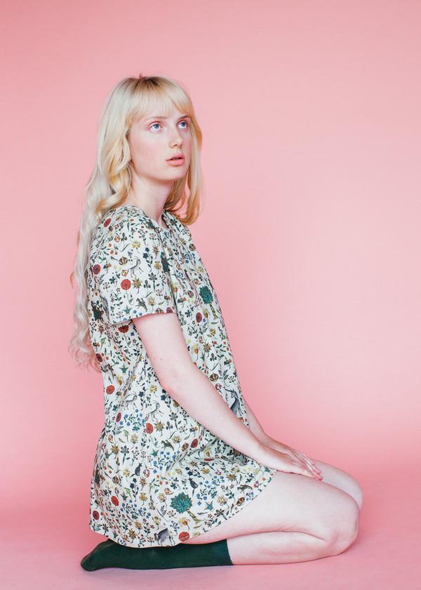 Samantha Pleet Tea Dress in Illuminated