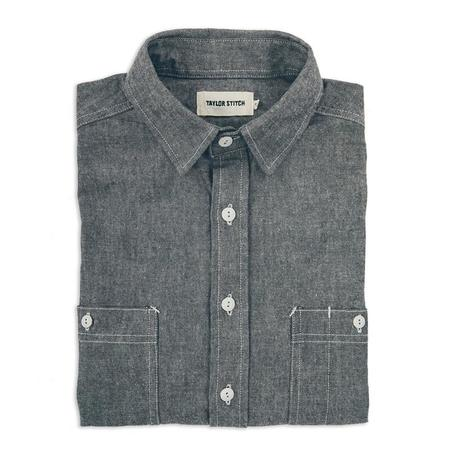 Taylor Stitch California Everyday Chambray - Charcoal