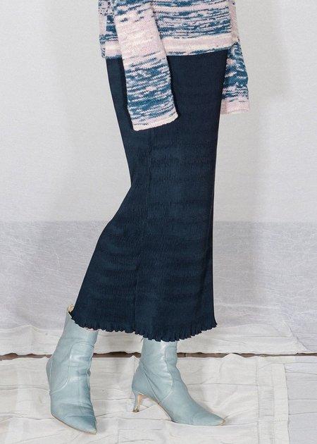 Nomia Pleated Skirt - Midnight