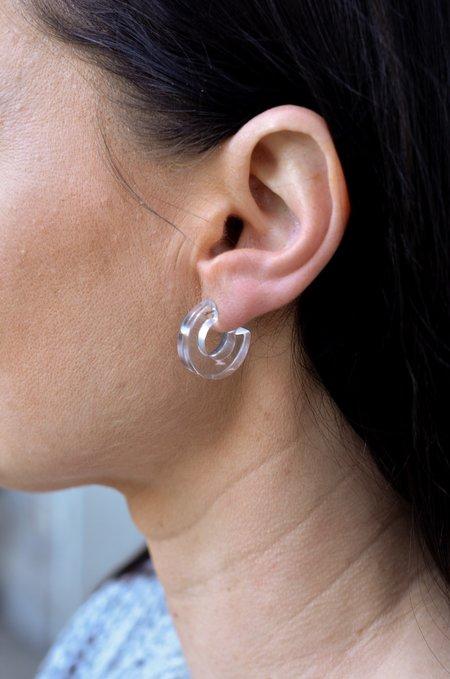 Rachel Comey Cuba Earrings - Clear