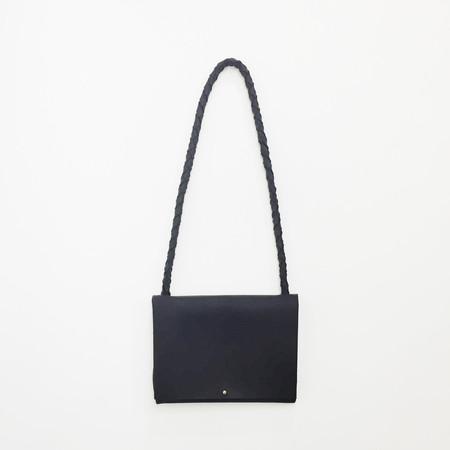 ARA Handbags - Black Fold Over Shoulder Strap Bag