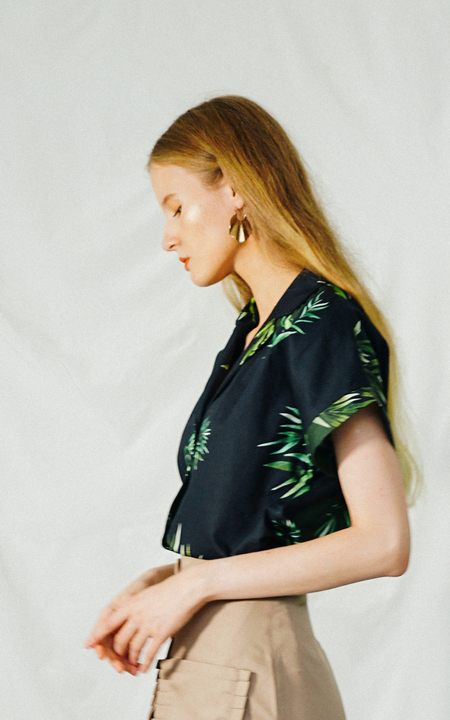 ENSEMBLE THE LABEL FOLIAGE SHIRT - PRINT