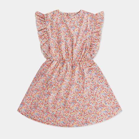 KIDS Repose AMS Misty Ruffle Dress - Liberty Flower
