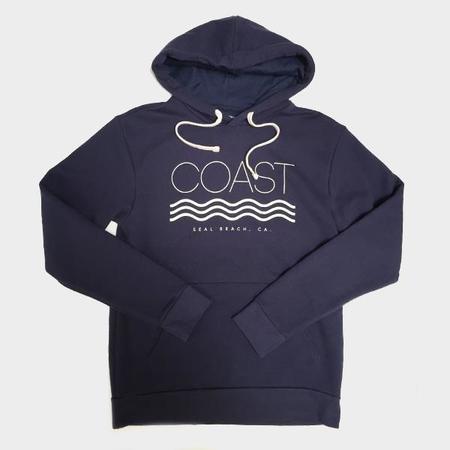 Coast Modern Pull Over Hoodie - Navy