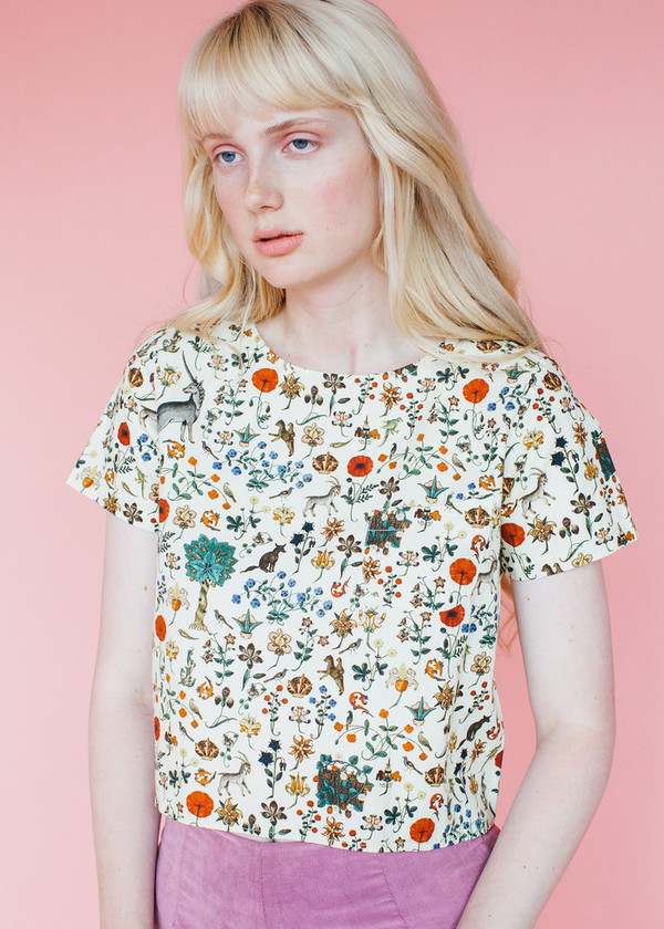 Samantha Pleet Tea Shirt in Illuminated