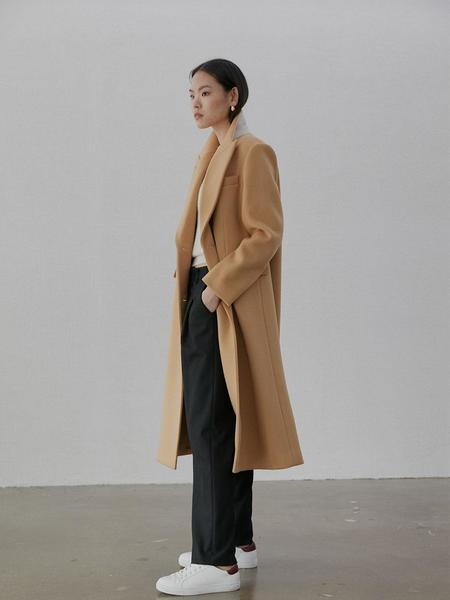BAKE SEOUL Cashmere Double-Breasted Coat
