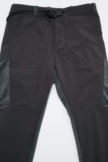 And Wander Fleece Base Pants - Gray