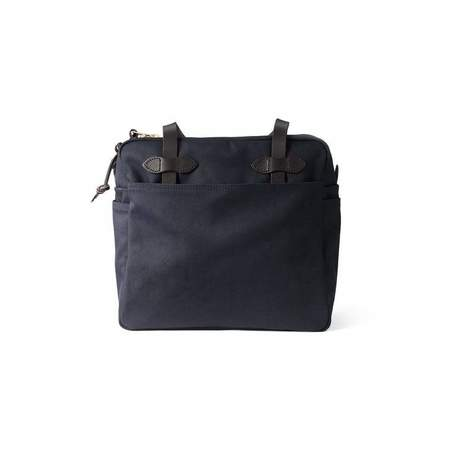 Filson Rugged Twill Tote Bag with Zipper - Navy