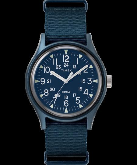 Timex MK1 Aluminum 40mm Fabric Watch - Blue