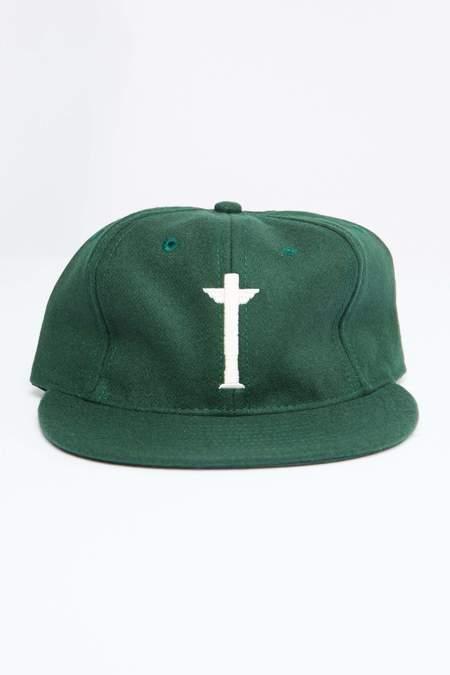 Ebbets Field Flannels Totem Brand Co. Wool Cap - Green