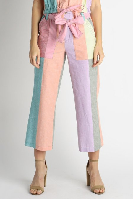 Current Air Rainbow Sherbet Set Pant - Pastel