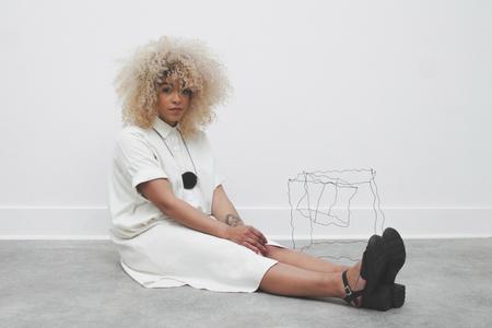Laurs Kemp Silk Shirtdress - Rice