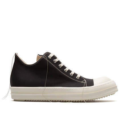 Rick Owens DRKSHDW 2 Tone Stitch Low Sneakers - Black